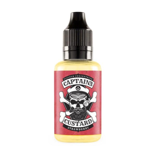 Strawberry Concentrate - Captain's Custard
