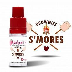 S'Mores Marshmallow Brownies - Molinberry
