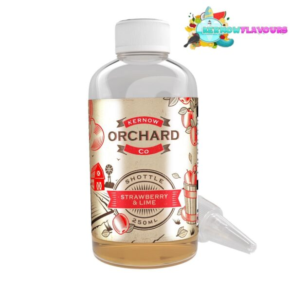 Orchard Co - Strawberry & Lime - Kernow Shottles